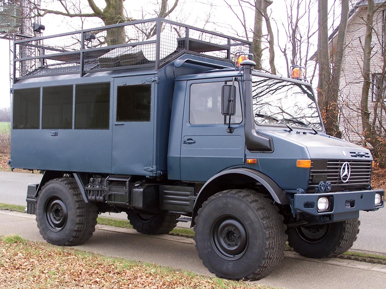 Полноприводный грузовик для охоты и рыбалки